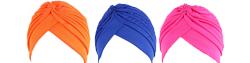 Turban femme et bonnet de nuit